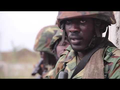 Ghana's Armed Forces training