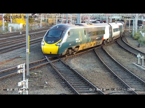 Crewe Camera 5, Cheshire UK | Railcam LIVE