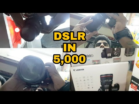 DSLRs CAMERA MARKET IN DELHI | BEST PLACE TO BUY NEW AND USED CAMERA | KUCHA CHAUDHARY MARKET