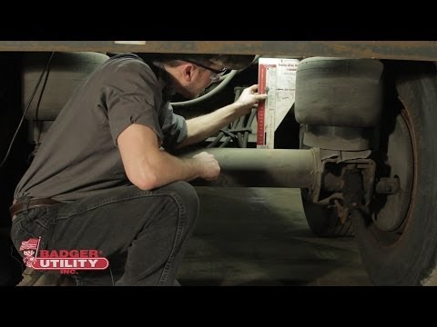 How to Adjust Ride Height on a Hendrickson Air Ride Suspension