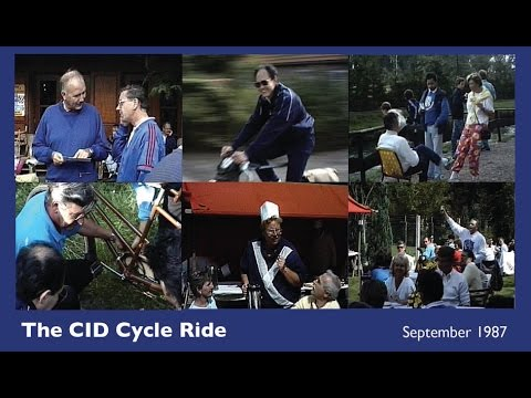 Philips CID Cycle Ride in September 1987