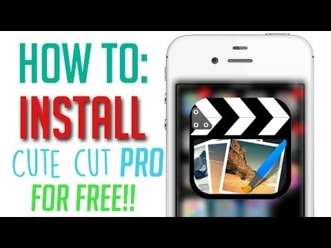How To Get CUTE CUT PRO For FREE VIDEO EDITOR On IOS 9/9.3 ...