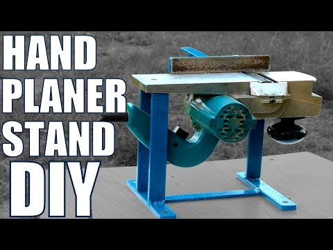Hand Planer Stand DIY