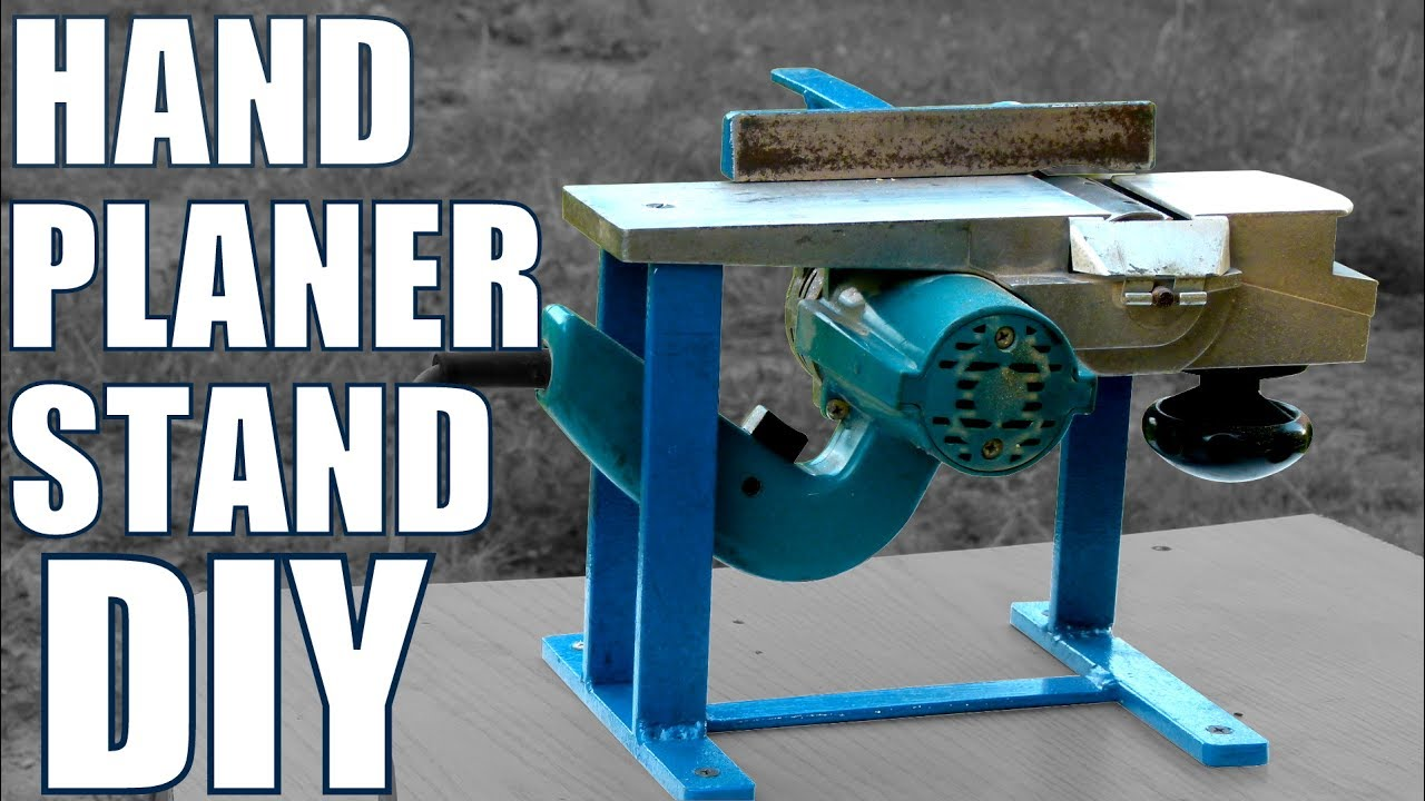 Hand Planer Stand Diy Youtube