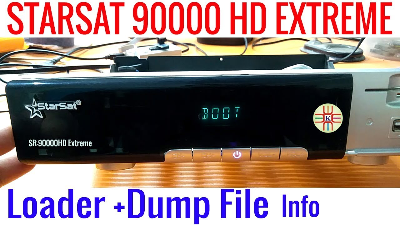 Starsat 90000 HD Extreme Stuck on Boot Due to Power Surge  Loader and Nand  Flash Info in Urdu/Hindi