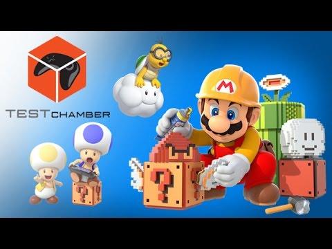 Test Chamber - Super Mario Maker's Secret Amiibo Costumes