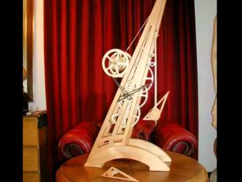 Fabriquer une pendule youtube for Grande pendule en bois