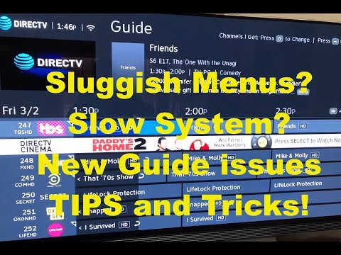 DirecTV Genie DVR Tips and Tricks Latest NEW Menus ☆ Slowness FIX TIP Too ☆
