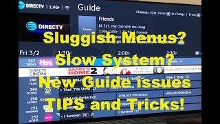 DirecTV Genie DVR Tips and Tricks Latest NEW Menus ☆ Slowness FIX TIP Too ☆