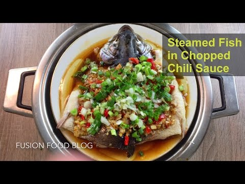 Steamed Fish In Chopped Chili Sauce (duojiao) Authentic Hunan Recipe #4 湖南剁椒鱼头