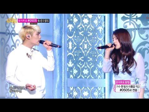 [HOT] S.M. THE BALLAD Vol.2, TaeYeon & JongHyun - BREATH, 종현 & 태연 - 숨소리, Show Music core 20140222