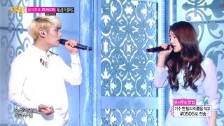 [HOT] S.M. THE BALLAD Vol.2, TaeYeon & JongHyun - BREATH, 종현 & 태연 - 숨소리, Show Music core 20140222