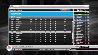 FIFA 12 -  Fulham FC - Manager Mode Commentary - Episode 6 -