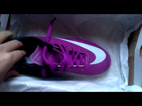 e94186b80fe3b Mercurial - Futsal. (roxo+branco) - YouTube