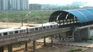 Dwarka metro station: Delhi Metro Rail Corp. spreads its geography wide