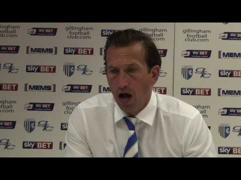 Justin Edinburgh post-Millwall