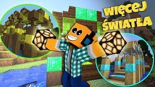 """Minecraft #383 -  """"OŚWIETLAMY NOWE MOSTY!"""""""