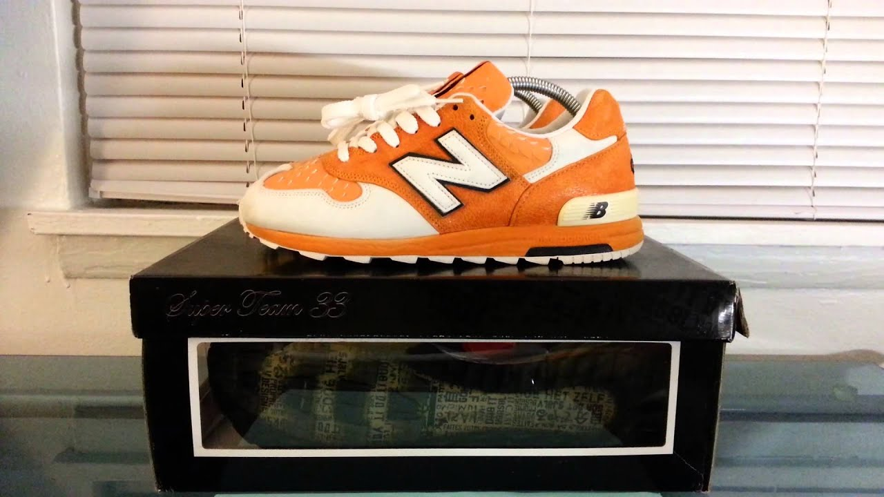 Story Time with Bahllin: New Balance 1400 Super Team 33 Clownfish