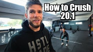 CrossFit® Open Workout 20.1 - Tips