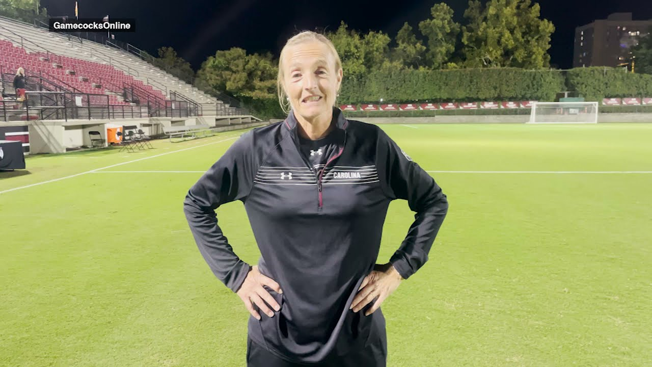 WSOC: Shelley Smith and Eveleen Hahn postgame 9/23/21