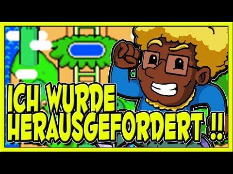 ICH wurde HERAUSGEFORDERT !! | Super Mario World | Cornel