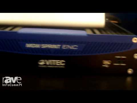 InfoComm 2014: VITEC Intros the MGW Sprint Encoder