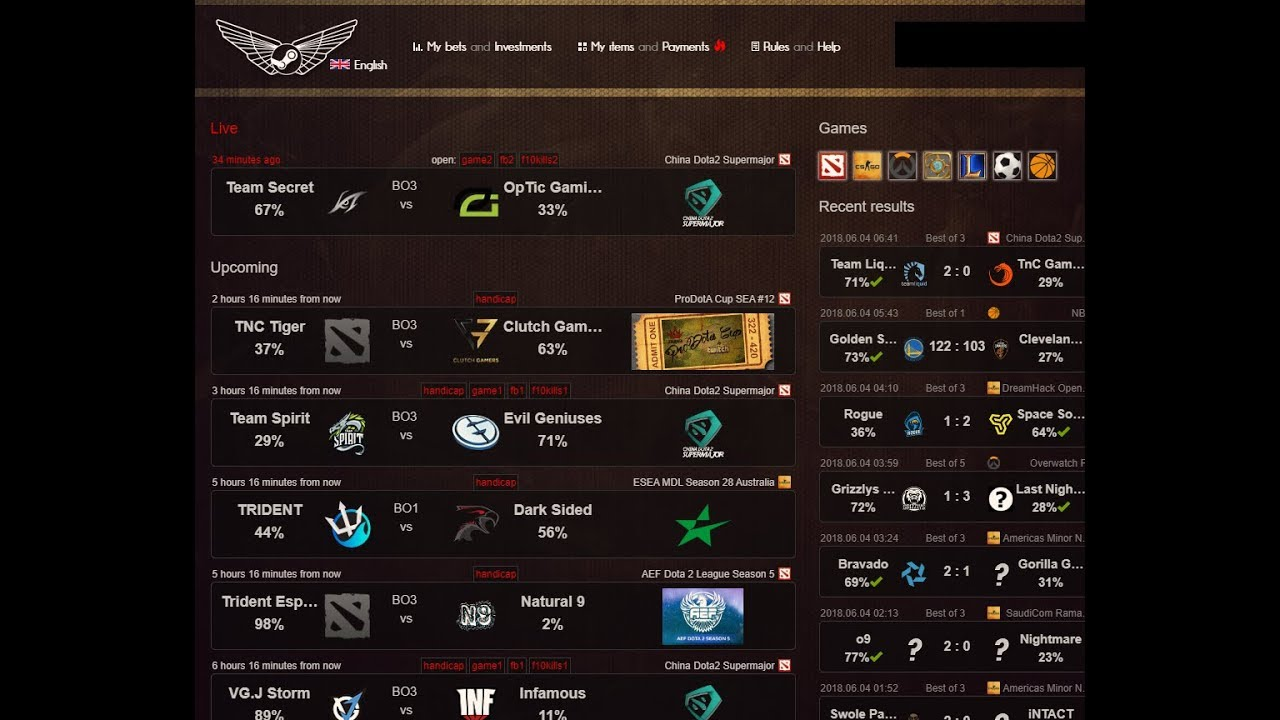 Betting dota 2 flamingo sports betting