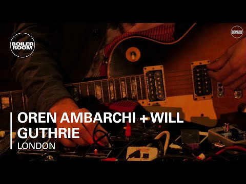 Oren Ambarchi + Will Guthrie Boiler Room x St John Session's LIVE Set