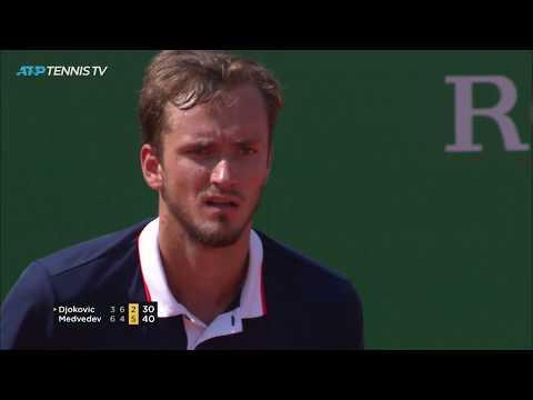 Magic Medvedev Moments in shock win over Djokovic! | Monte-Carlo 2019