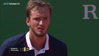 Magic Medvedev Moments in shock win over Djokovic! | Monte-Carlo 2019