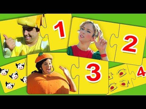 فوزي موزي وتوتي – لعبة تطابق الأرقام -  Matching numbers game