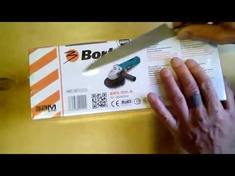 Болгарка Bort BWS-905-R - снято на Ainol BW1 - распаковка