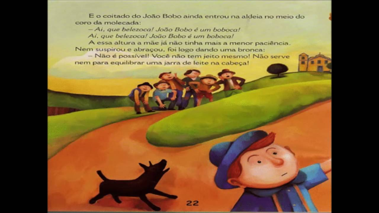 João Bobo Áudio Livro - YouTube