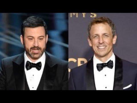 Late night hosts hit Trump amid losing GOP viewers