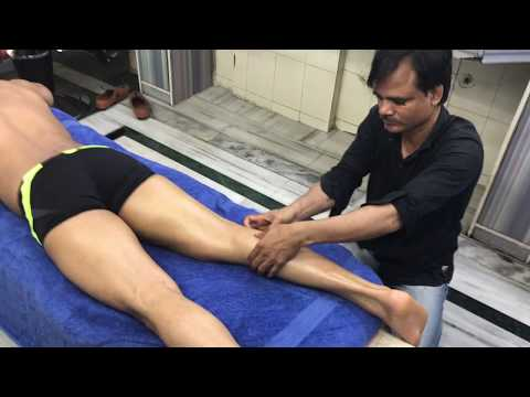 ASMR Deep Tissue Full Body Massage By Shamshed Alam (Shantanu)  Glutes And Legs  Part-3
