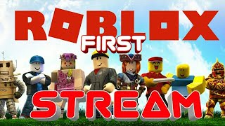 🔴 First Roblox Live Stream Road To 100 Subs