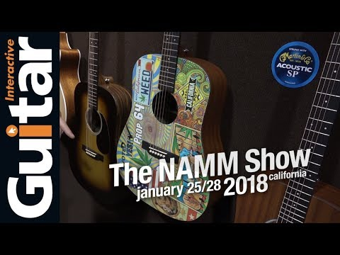 NAMM 2018 | Martin Guitars + CF Martin IV Interview