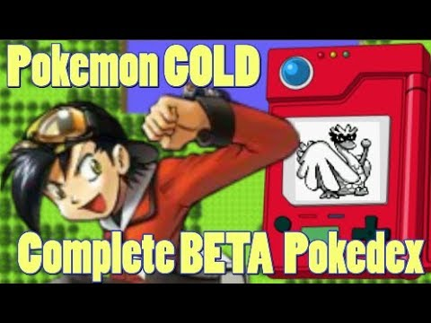 Pokemon GOLD 1997 Demo Pokedex 152 to 251 CUT GEN 2 POKEMON