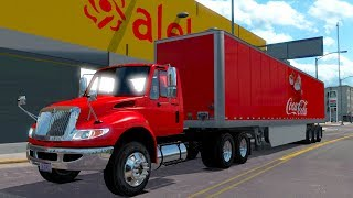 ATS International DuraStar Coca Cola de Fresnillo a Zacatecas! American Truck Simulator