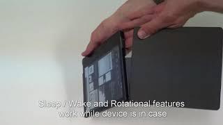 CaseBot Kindle Oasis (9th Gen, 2017) Slim Fit Multi Angle Case