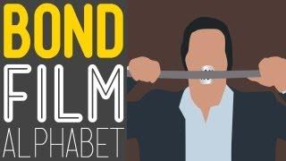 James Bond Characters A-Z - Goldfinger Jaws Moneypenny Xenia Onatopp James Bond Film Alphabet HD