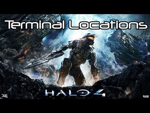 ★Halo 4 - TERMINAL LOCATIONS Guide/Tutorial