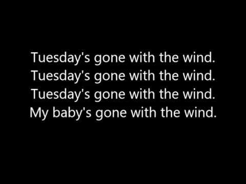Tuesday's Gone By Lynyrd Skynyrd with Lyrics