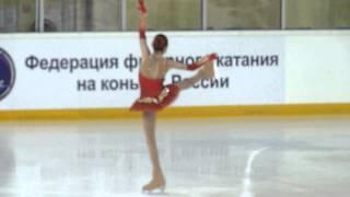 Евгения Медведева, КП, Russian Juniors 2014