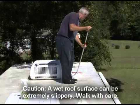 Cleaning and protecting your RV roof