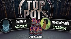Top Pots $100/$200 Cash Game Highlights limitless Vs moglimiranda bCp Poker