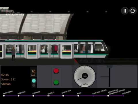 paris metro simulator ligne 14 youtube. Black Bedroom Furniture Sets. Home Design Ideas