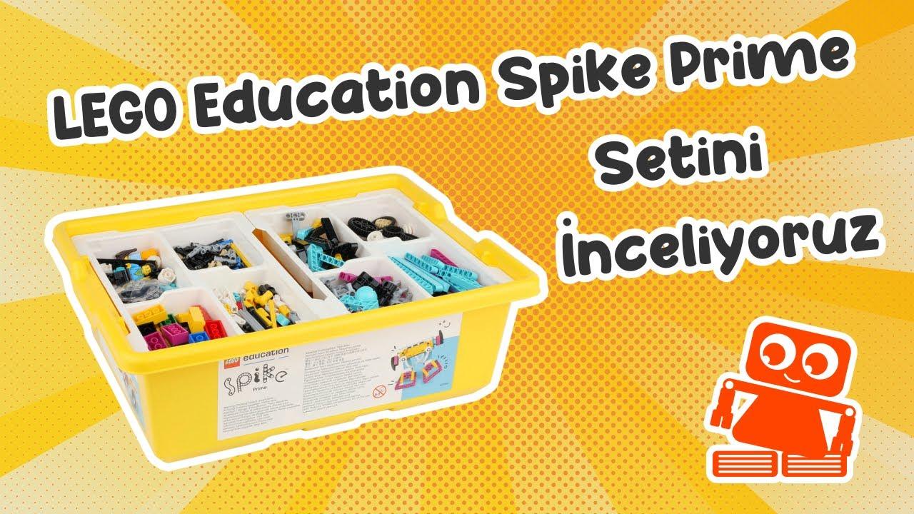LEGO Spike Prime Robotik Seti Kutu Açılışı