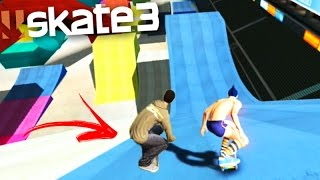 SKATE 3 (Multiplayer) AS MAIORES RAMPAS!!! (Skate Share Pack)