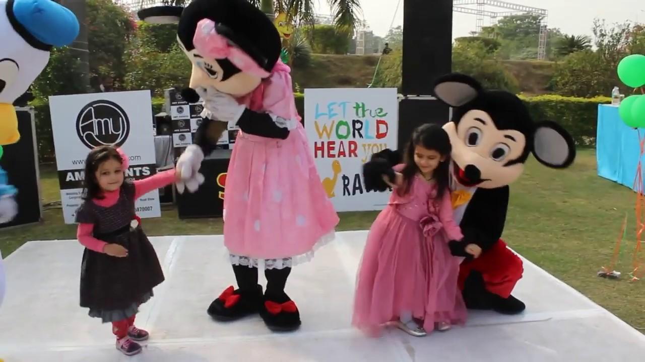 f9b52cf2b Kids Party Characters - Disney Mickey Minnie Mascot Costumes | Goofy Pluto  Mickey Minnie.